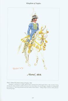 Kingdom of Naples: Plate 1. Murat, (Joachim I), King of Naples, 1812.
