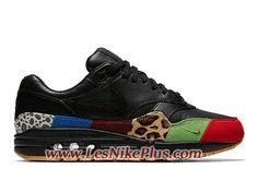 huge discount 5b896 05cdc Sneaker Nike Air Max 1 Master Chaussures Nike Officiel Pas Cher Pour Homme  Noir Vert 910772