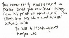 Ahh! We had a question about this quote on our English final! O_o