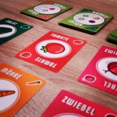 #punktesalat ist ein einfaches und schnelles Kartenspiel was ein coole Wertungsmechanik hat. Highlight. #spieldigital #kartenspiel #pegasusspiele #fb