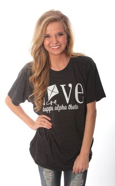 Traditional Greek Love Tee – Kappa Alpha Theta