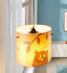 DECOILUZION - Lámpara infantil Los amigos del bosque