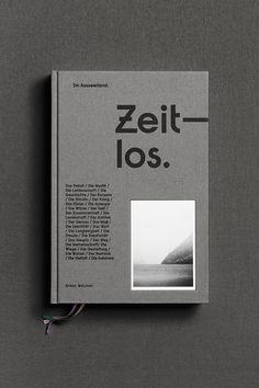 dailydesigner: TIME-LOS in Bewegung von Thirteen & Five Studio - Handlettering und Typografie Buch Design, Graphisches Design, Design Logo, Design Poster, Graphic Design Typography, Brochure Design, Layout Design, Print Design, Magazine Design