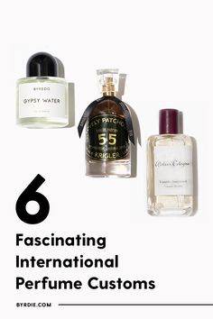 How women where perfume all over the world