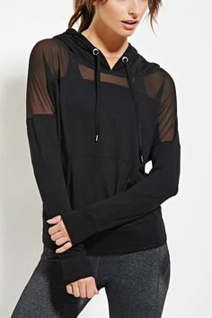 LARGE AND XL mesh hoodie