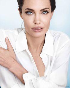 Angelina Jolie by Mario Testino for Vanity Fair • 2014