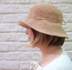 e0570bfdb14 44 Best RAFFIA CROCHET HATS images