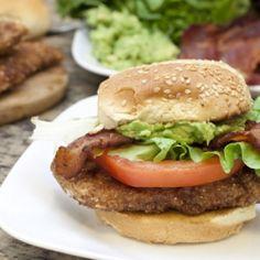 CABLT (Chicken, Avocado, Bacon, Lettuce, and Tomato) Sandwiches!