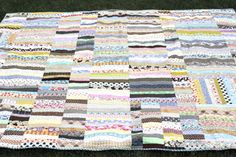 Strip Quilt from Scraps 3