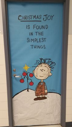 Pigpen - Charlie Brown Christmas Hall Teacher Workroom