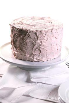 Strawberry Cake Recipe via @addapinch