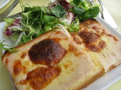 (Paris) Croque Monsieur at Les Deux Magots