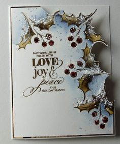 Love, Joy & Peace by Micheline Jourdain - Cards and Paper Crafts at Splitcoaststampers