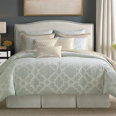 Candice Olson Cachet Comforter Set from Beddingstyle.com  This would go great with my brown walls.