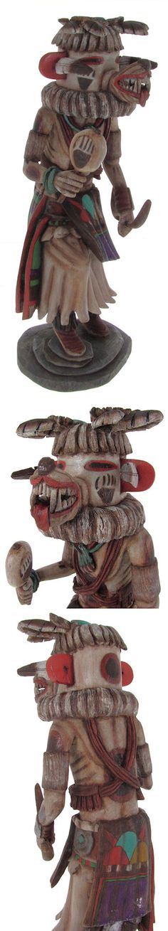 Hopi Hon or Bear Kachina Doll Carving by Artist Daryl Karuh KS61745