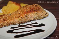 Oggi vi propongo una ricetta per preparare il filetto di salmone in poco tempo; il salmone con sesamo, vi assicuro che farete un figurone a tavola!