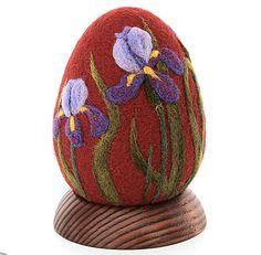 Easter egg souvenir gift needle felting of by RunoArtNeedleFelting