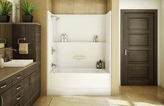 MAAX - TSEA Plus - 1-piece fiberglass tub shower