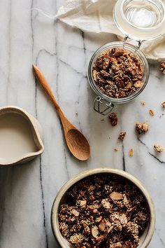 Honey Almond Quinoa Granola by pastryaffair, via Flickr