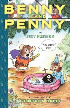 Benny wants to be a brave pirate, but it's hard to pretend when his pesky little sister, Penny, is always tagging along.