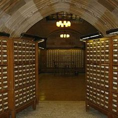 ...aah the good ol' card catalog. Click Like if you referred to them before google.
