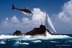 You can never beat a helicopter pic! #StBarthsBucket! Photography Cory Silken