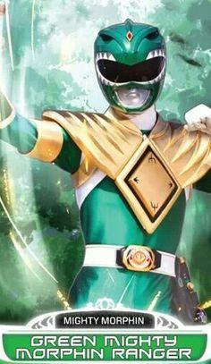 Green Mighty Morphin Power Ranger #SonGokuKakarot