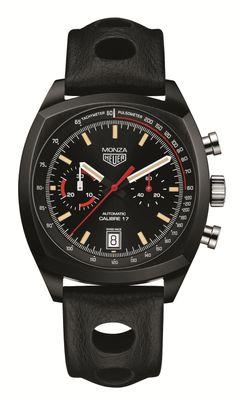 TAG Heuer Monza Chronograph - Heuer Monza 40th Anniversary