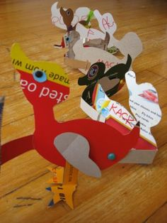 : Make Way For Ducklings craft