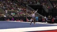 This girl can tumble! Jordan Chiles – Floor – 2014 P&G Championships – Jr. Jordan Chiles, This Girl Can, Ladies Day, Gymnastics, Jr, Cheer, Jordans, Flooring, Decorations