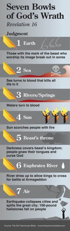 The Quick View Bible Seven Bowls of God's Wrath Bible Teachings, Bible Scriptures, Bible Quotes, Beautiful Words, Quick View Bible, Religion, Bible Knowledge, Life Quotes Love, Scripture Study