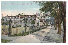 Vintage Postcard  Lion Beehive House Salt Lake City UT circa 1910