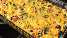 Easy Mexican Casserole - This Mexican casserole recipe made with layers of tortilla chips, beef, and salsa makes a quick and easy dish that will please the whole family. Healthy Recipe Videos, Healthy Dinner Recipes, Mexican Food Recipes, Cooking Recipes, Delicious Recipes, Beef Recipes, Healthy Potluck, Healthy Snacks, Mexican Desserts