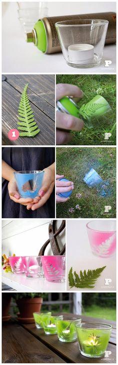 Diy : Spray paint tealight holders | DIY & Crafts Tutorials