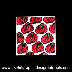 I love Rennie Macintosh designs.   This is his famous rose that I painted on Silk.