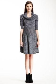 Talia Cowl Neck Sweater Dress by BCBGMAXAZRIA on @HauteLook