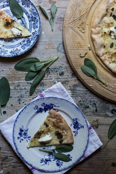 Paolo's Black Truffle, Mascarpone & Sage Pizza - From My Dining Table