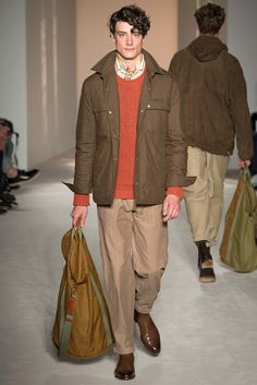 Dunhill Spring 2016 Menswear Fashion Show