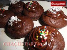 Cupcakes de cocoa y yogur (sin gluten)