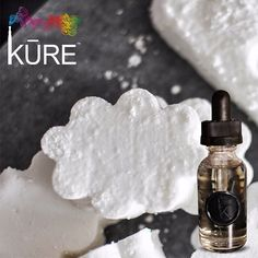 Sweet dreams☁️ Try one of our newest KURE #ejuice flavors, Sugar Clouds. It will help curb those sweet cravings.