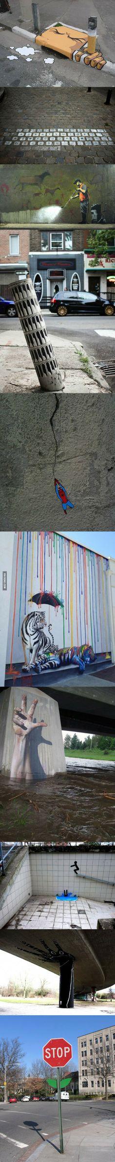 10 Coolest Street Art