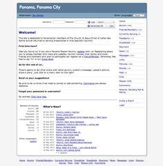 Alumni site of the Panama City LDS Mission.
