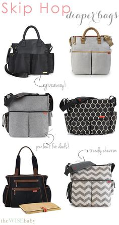 Virtual Baby Shower: Skip Hop Diaper Bags • The Wise Baby