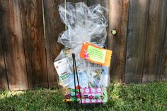 Create a teacher/librarian appreciation basket inspired by the picture book Pumpkin Time! by Erzsi Deak and Doug Cushman.