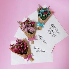 不用大花束,也能很浪漫!韓國正妹手作「迷你版花束」告白超適用 | 微文青 | 妞新聞 niusnews
