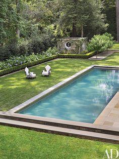 Suzanne Kasler Transforms Her Federal Style Fixer Upper In Atlanta Photos    Architectural Digest Pool · Pool Im GartenHaus ...