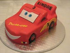 Emmas KakeDesign: Lynet McQueen Kake