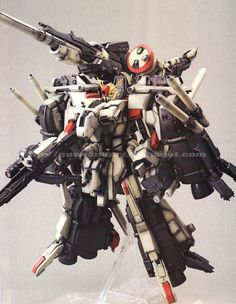 GUNDAM GUY: 1/100 FA-010-KmC FAZZ[JG] - Custom Build