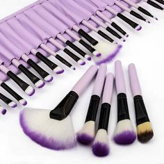 Vander Professional Makeup Brushes Set Of 32Pcs Cosmetic Make Up Beauty Brush