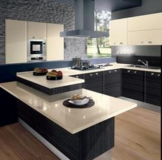 Kitchen lighting ideas over island and fixtures will add style to any home. Kitchen lighting ideas over island and fixtures will add style to any home. for low ceiling diy home light decor - modern kitchen lighting Kitchen Room Design, Modern Kitchen Design, Home Decor Kitchen, Interior Design Kitchen, Diy Kitchen, Kitchen Ideas, Stylish Kitchen, Awesome Kitchen, Kitchen Small